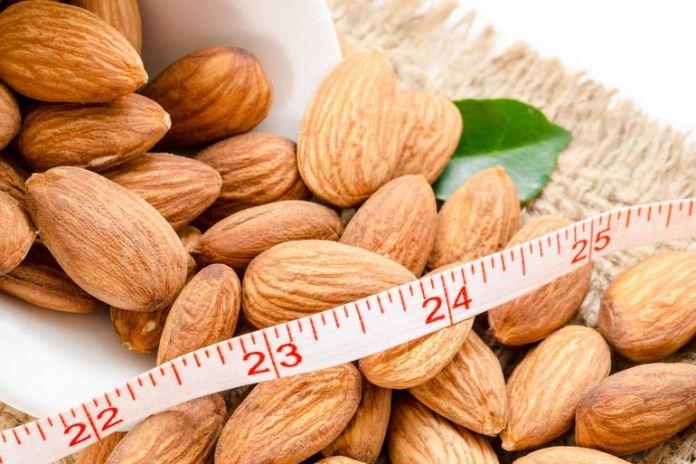 Almonds help reduce waist circumference