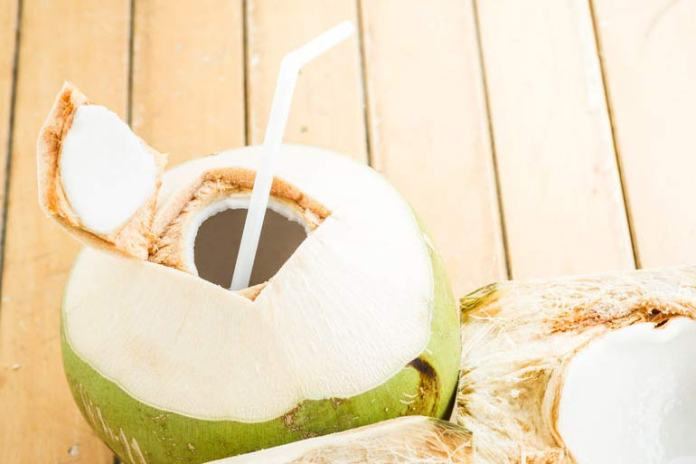 lemon juice and coconut water for hair growth