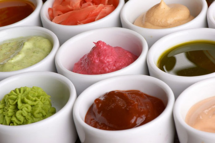 Blending in some leafy greens like spinach, or adding chopped or pureed veggies will make sauces all the more healthy.