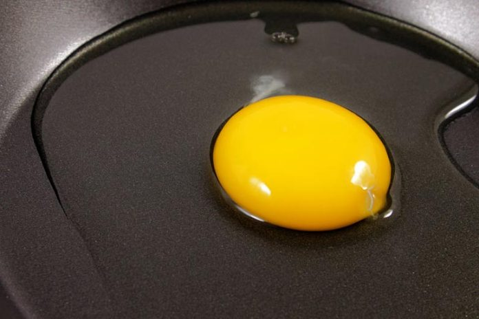 Teflon-coated cookware prevent food from sticking to its surface