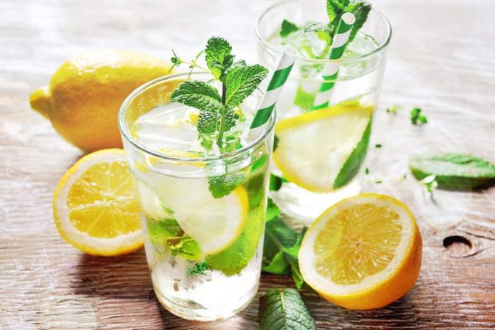 Lemon water will help shake off the sluggishness