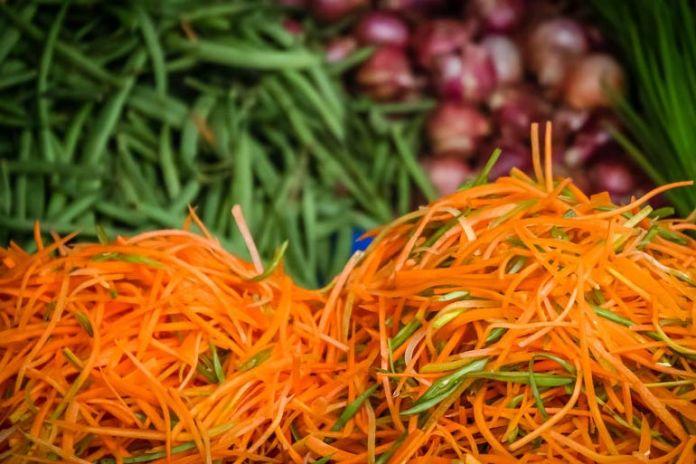 Buy pre-cut veggies.