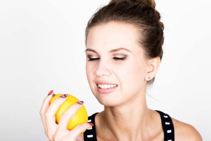 Lemon oil give a nice toned skin