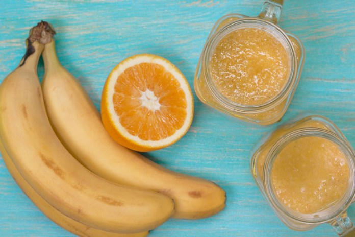 Bananas contain natural sugars that give you instant energy.