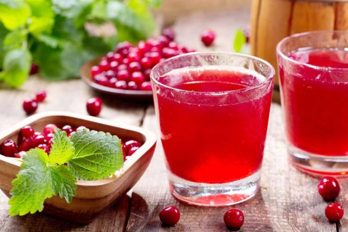 Add Cranberries To Your Diet In the Form Of Cranberry Juice