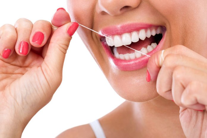 Flossing is good for your dental health