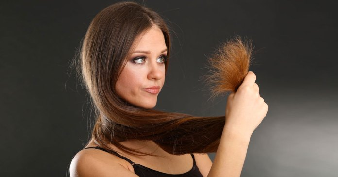 Hair Damage: The Difference Between Dryness And Split Ends