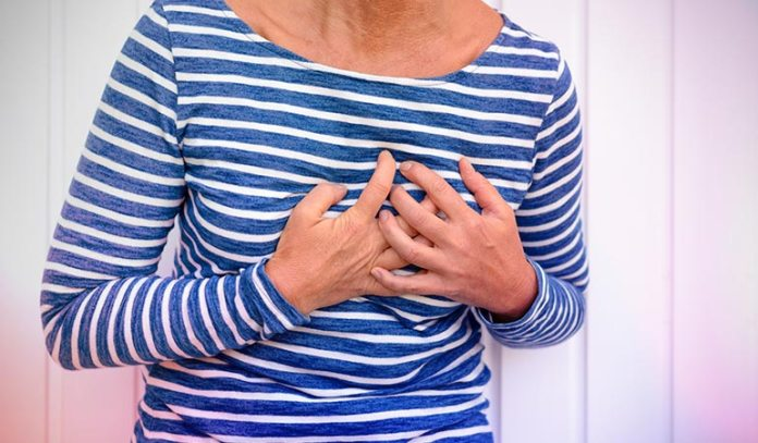 Your heart may race during perimenopause because of the release of epinephrine, or adrenaline)