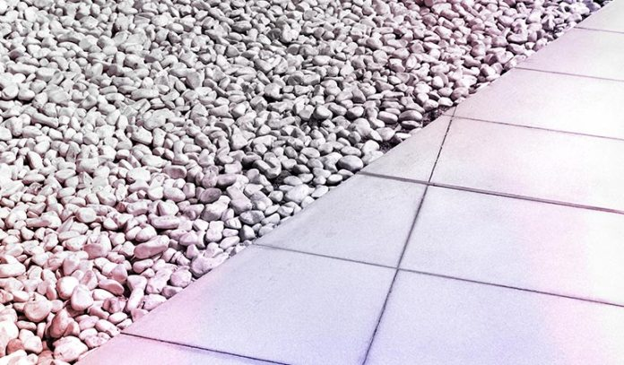 Gravel Acts As A Protective Boundary