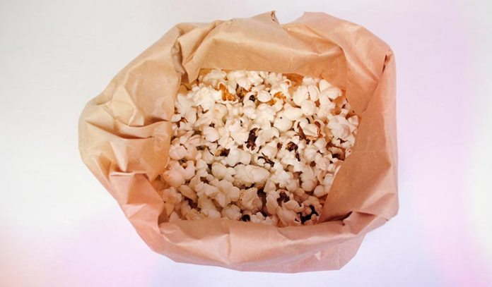 Replace Regular Popcorn With Air Popped Popcorn