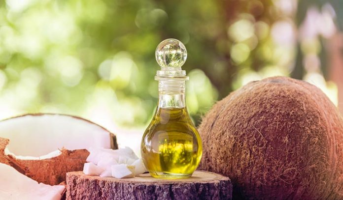 Gum massage done with coconut, sesame, or olive oil treats oral problems.
