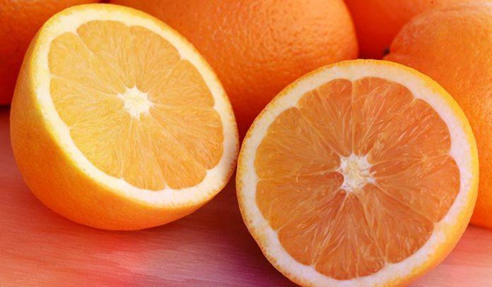 Oranges Contain 88% Water