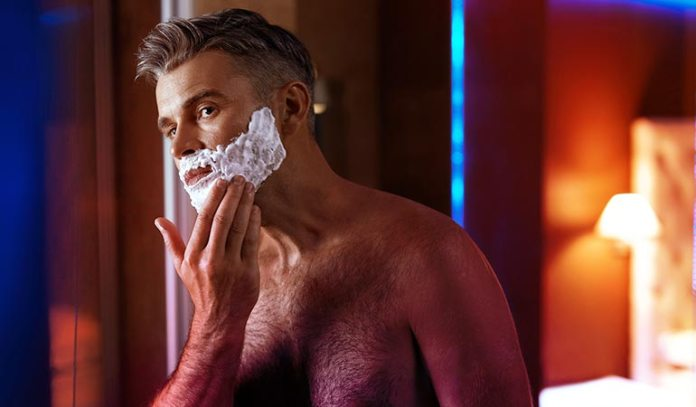 men with sensitive skin