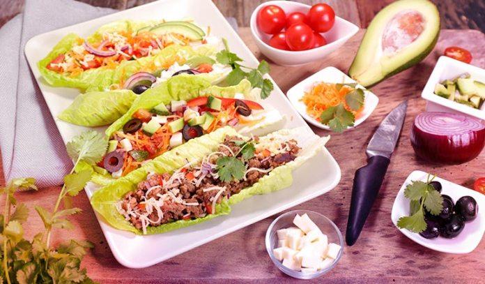 Wrap Them Around A Healthy Salad
