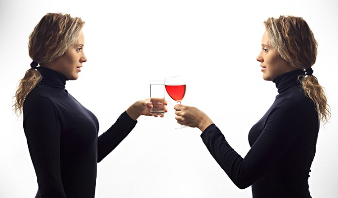 Humans often simply decision-making by talking to themselves