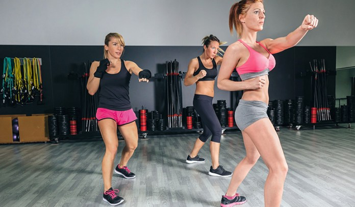 Boxing burns up to 400 calories an hour