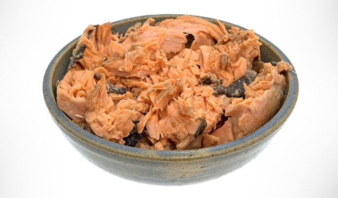 Canned food like tuna is rich in protein and Omega-3 fats.