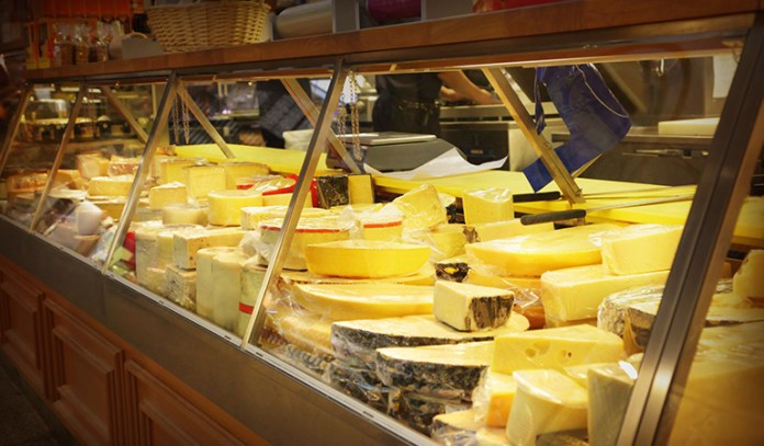 Cheese is very high in calories
