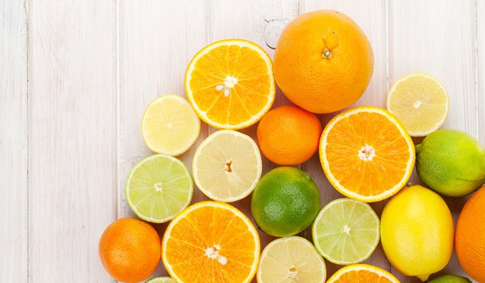 Citrus fruits are high in vitamin C helping you with your eyesight