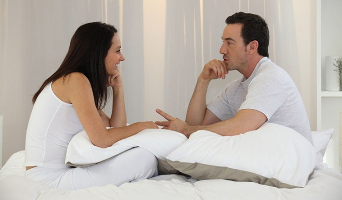 Communicating with your partner about your sexual fantasies can help you both have a better, more satisfying sex life.