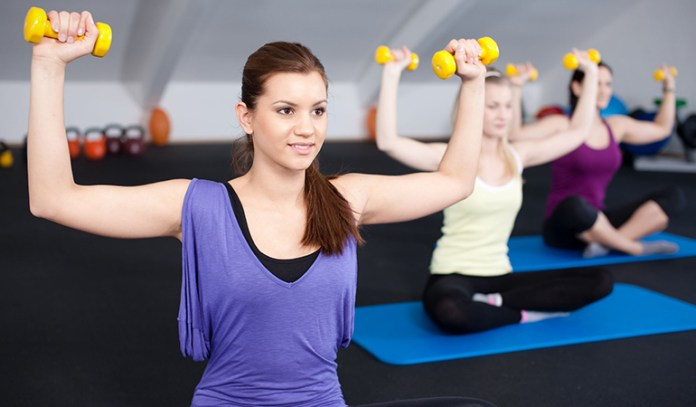 Strength training helps remove belly fat