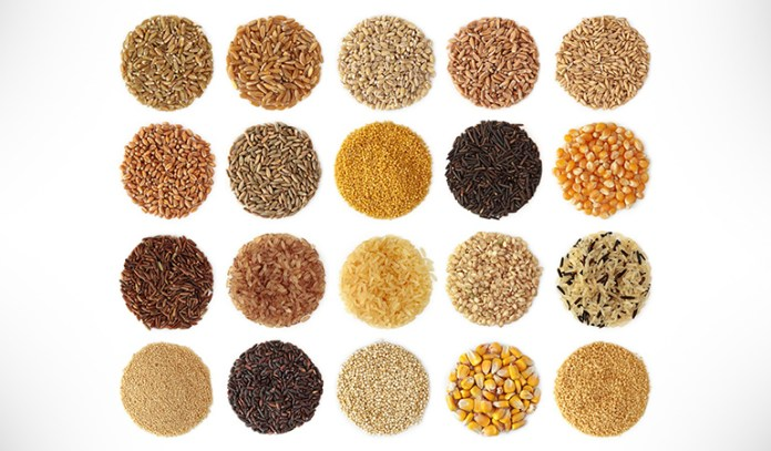 Eat wheat, barley, and oats instead of rice