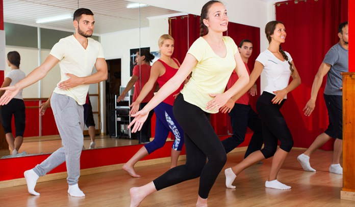 Examples include dance classes like salsa, jazz, and hip-hop