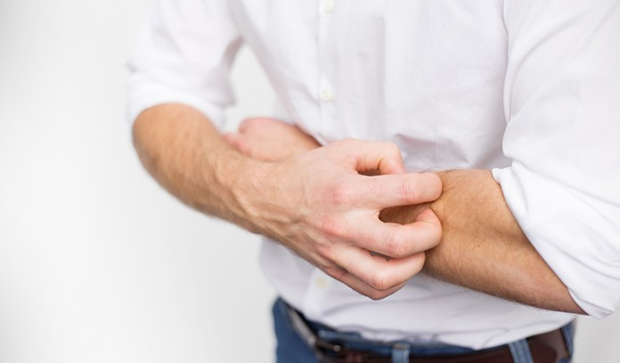 Molds produce irritants that can cause skin rashes.