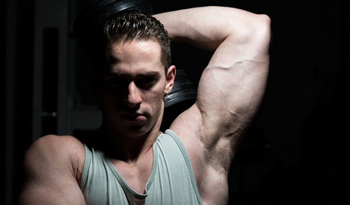 Dumbbell extensions provide best stretch to the muscle