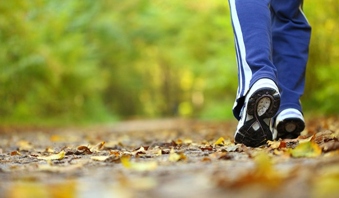 Studies say that walking through greenery helps de-stress the mind because nature allows for 'involuntary attention.'