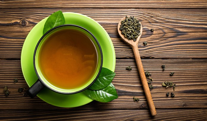 Drink green tea to reduce cellulite