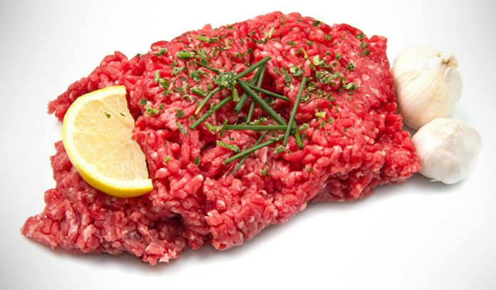 Ground beef can contain pathogens that could cause diarrhea