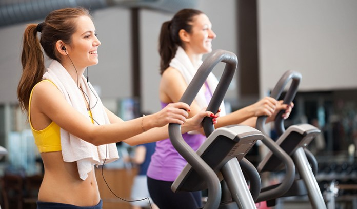 Get your cardio by using stair climbers.