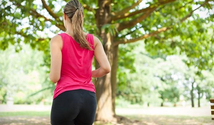 Walking backward helps to burn more calories
