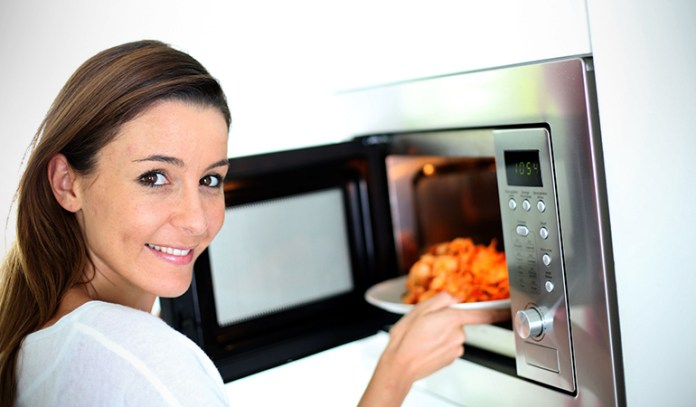 Microwaving food a lot can be bad