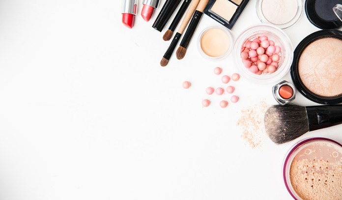 Makeup and toiletries contain harmful chemicals that are released into the air