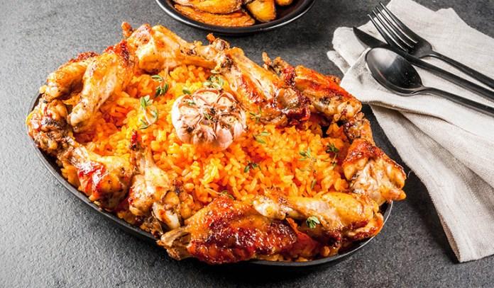 Nigeria's traditional jollof rice