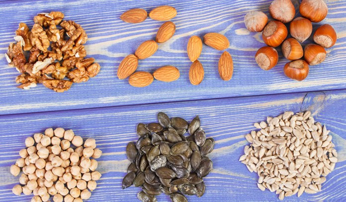 Nuts and seeds provide with healthy fats that cut down the bad fats