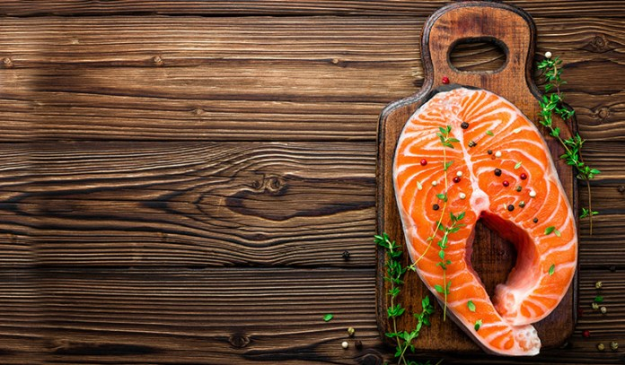 Salmon contains healthy fats and nutrients for faster hair growth