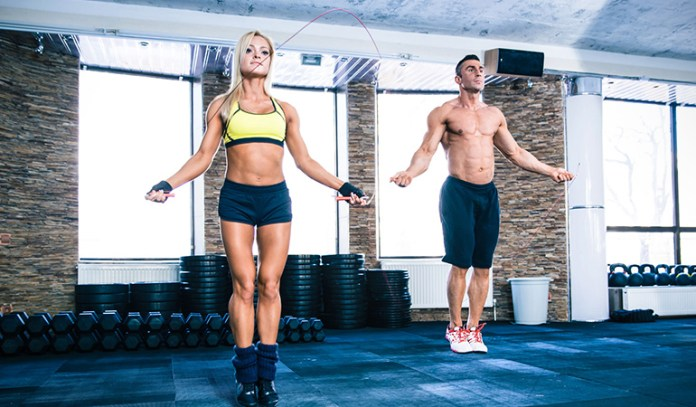 Skipping burns up to 720 calories an hour.