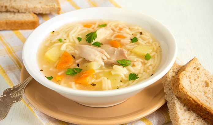 Soups contain MSG either as an additive or within the soup mix itself