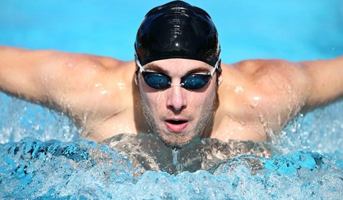 Vigorous swimming laps burn up to 444 calories per hour
