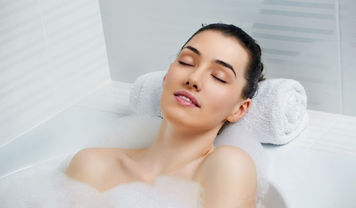 Warm baths before bed may help you sleep better