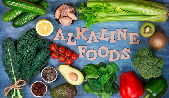 Alkaline foods are those that release a base when digested and metabolized