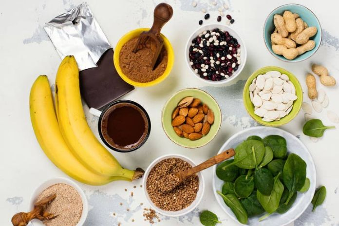 There are a lot of natural sources of magnesium.