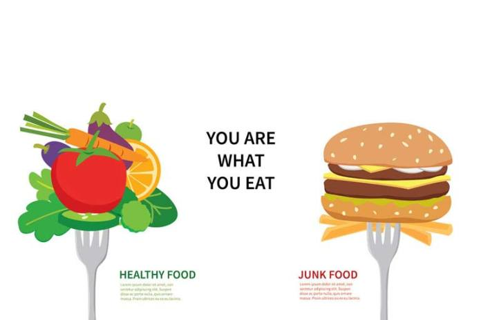 Healthy eating promotes stress relieving hormones