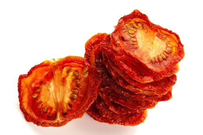 Sun-dried tomatoes are a great source of anti-oxidants