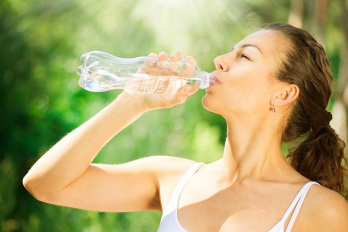 Drink water if you have a craving
