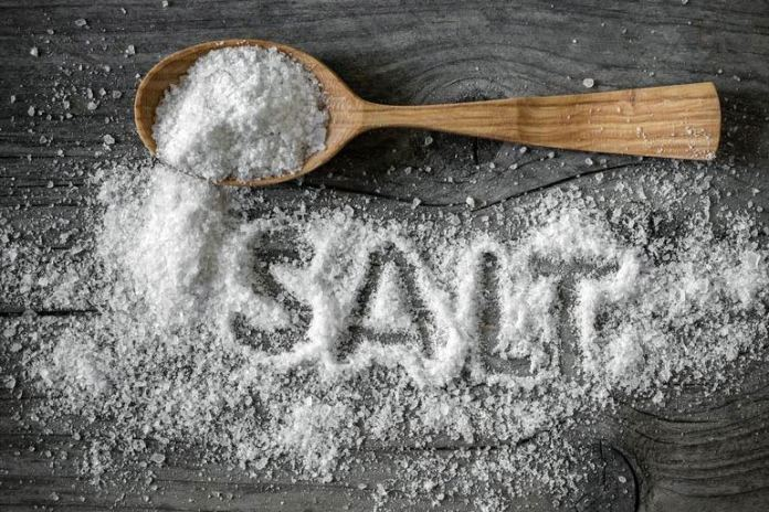 Reduced intake of salt has a beneficial effect in preventing and lowering hypertension