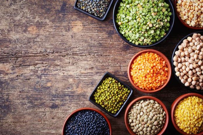 Lentils and legumes offer a good amount of protein and fiber